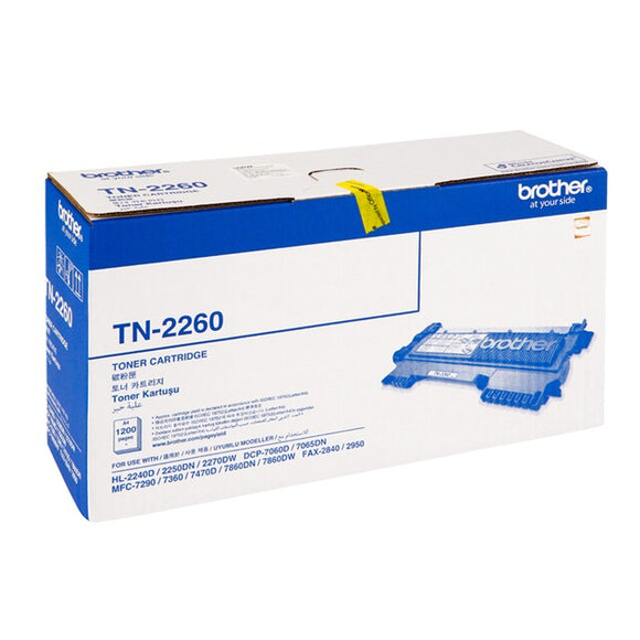 TONER BROTHER OR TN2260 BLACK