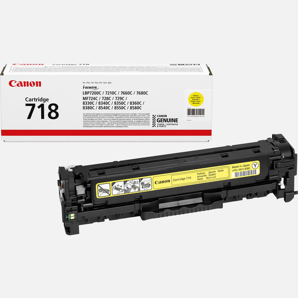 TONER CANON OR 718 YELLOW