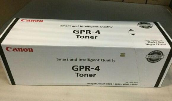 TONER CANON OR IR5000 6000 GPR4 BLACK
