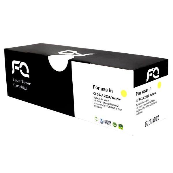 حبر TONER FQ CF542A 203A Yellow - Pcs