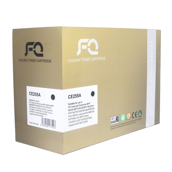 TONER FQ GOLD CE255A BLACK
