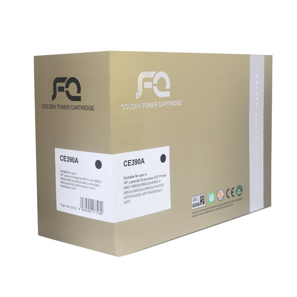 TONER FQ GOLD CE390A BLACK