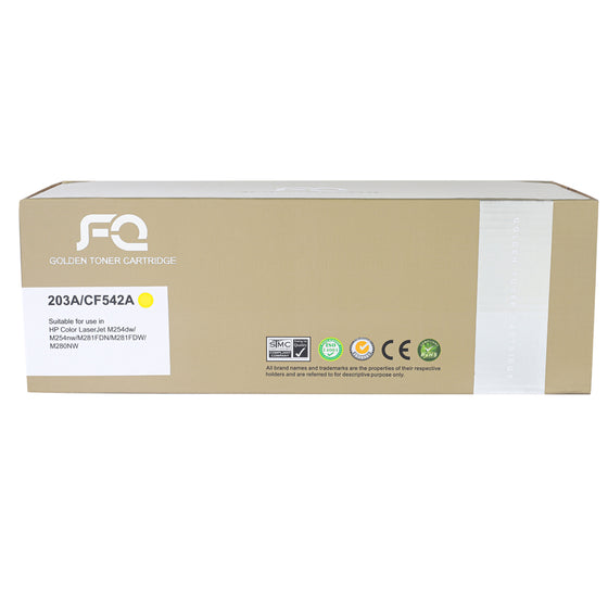 حبر TONER FQ GOLD CF542A 203A YELLOW