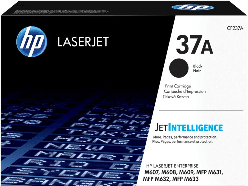 حبر TONER HP OR M607 M608 CF237A 37A BLACK