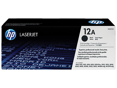 حبر TONER HP OR 1010 Q2612A 12A BLACK