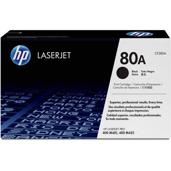 TONER HP OR CF280A 80A BLACK