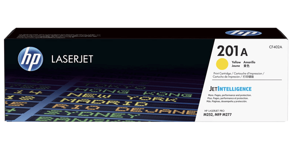 TONER HP OR CF402A 201A YELLOW