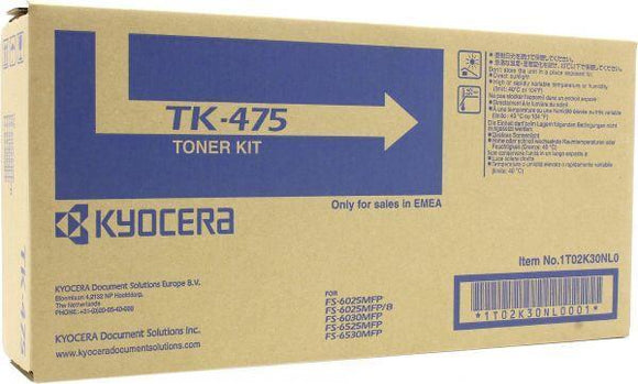 TONER KYOCERA MITA OR 6025 TK475 BLACK
