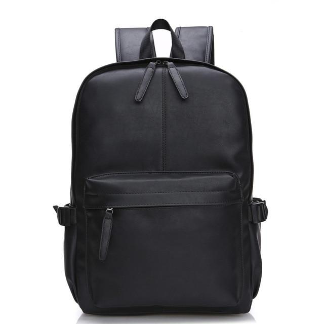Oil Wax Leather Backpack For Men - Western Design Style Leather and Mochila Zipper - backpackboutique.store