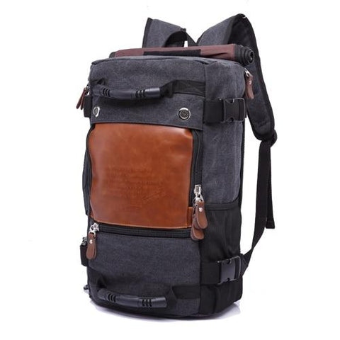 Men's KAKA Stylish Large Capacity Travel Backpack (118) - backpackboutique.store