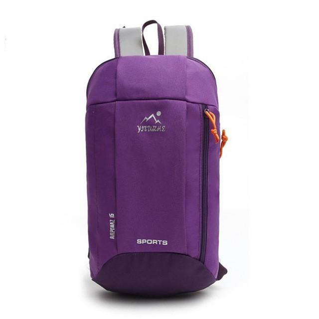 Mountaineering Backpack Outdoor Hiking Shoulder Bag backpackboutique.store Purple