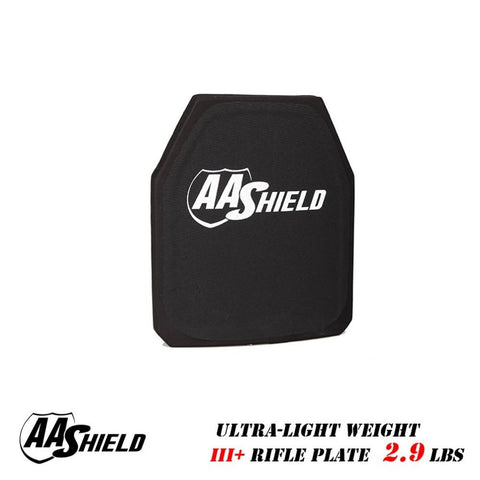 Backpack Boutique | AA Shield 9.5 X 11.5 Light Weight Rifle Rated Bulletproof Insert Panel (NIJ III Rifle) - backpackboutique.store