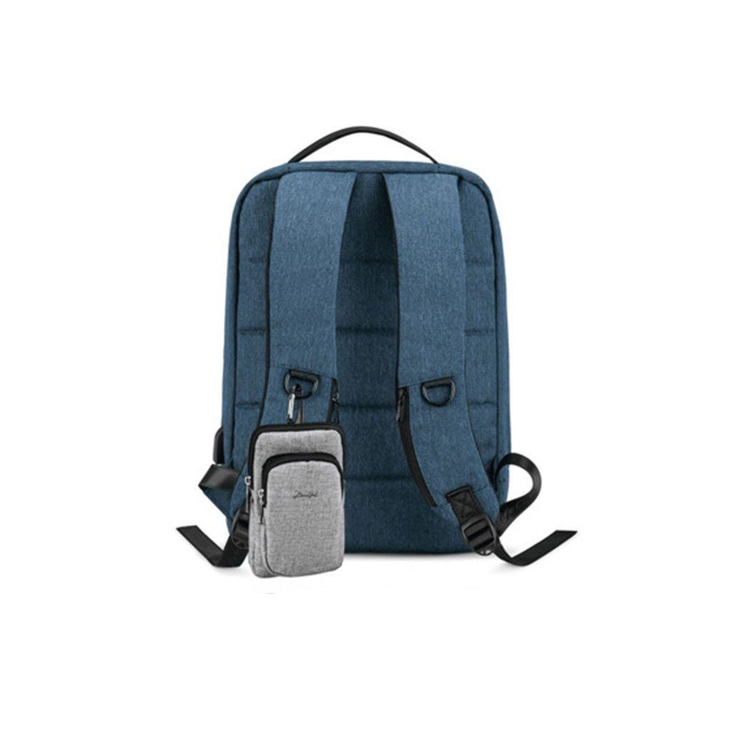 Men's Travel Business Backpack - College Backpack  with USB Charging Port,Water Resistant. Laptop - backpackboutique.store