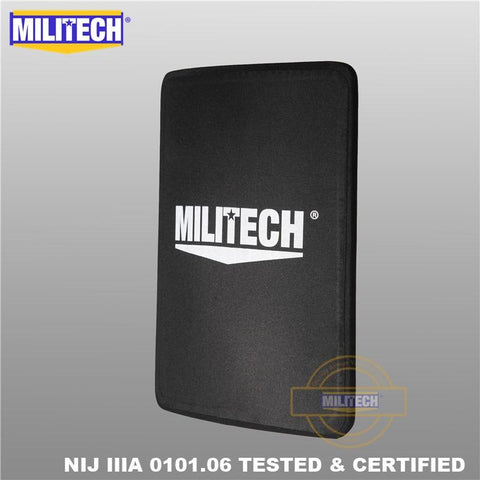 Backpack Boutique | MILITECH 11 x 14 Ultra Light Weight Bulletproof Insert Panel (NIJ IIIA Hard Armor Plate) - backpackboutique.store