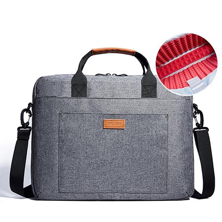 KALIDI Laptop Bag 13.3 15.6 17.3 Inch Waterproof Notebook Bag for Macbook Air Pro 13 15 Computer Shoulder Handbag Briefcase Bag backpackboutique.store Gray China 17-inch