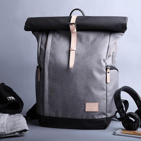 KAKA Unisex Backpack with 15.6 USB Laptop Mochila Knapsack - backpackboutique.store