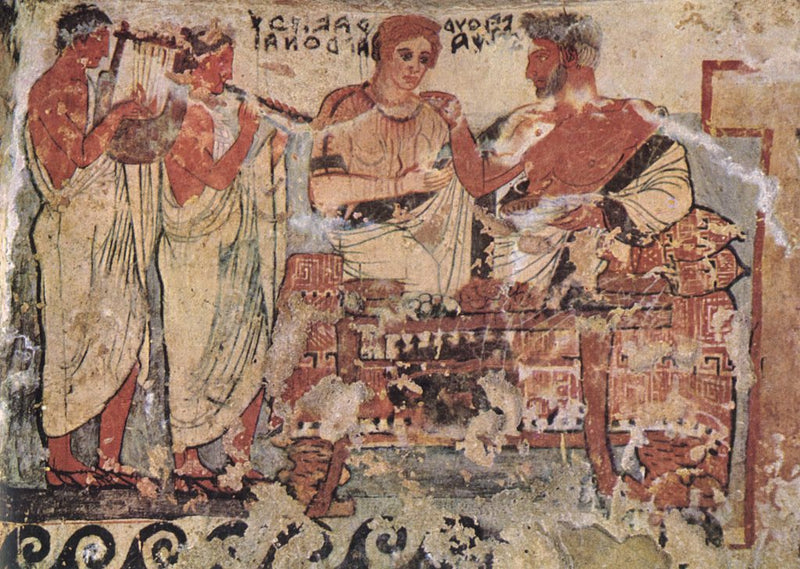 The Old School Kitchen: From the Etruscan Table to the Roman Banquet (July 2020)