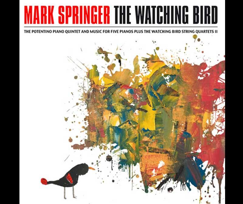 The Watching Bird, by Mark Springer
