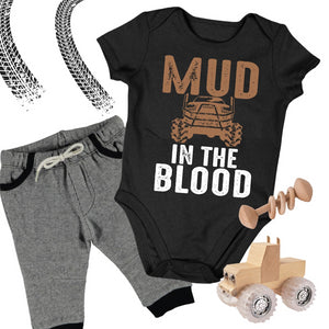 Mud in the Blood Onesie Baby Bodysuit