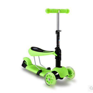 3 in 1 Ride on Kick Scooter