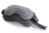 Grey Travel Neck Pillow & Eye Mask