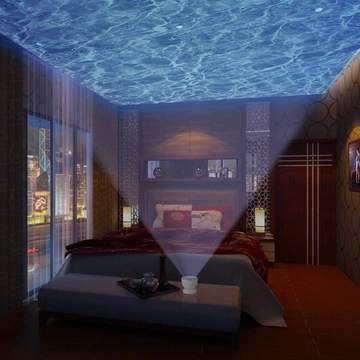 Ocean Wave Projector & Music Box