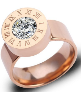 Numeral Beautiful Woman Ring