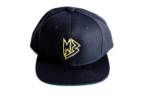 "Murda Gang ""MB"" Snapback (Black/Gold)"