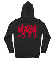 "Murda Gang ""MB"" Hoodie (Black/Red)"