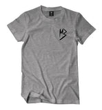 "Murda Gang ""MB"" Shirt (Grey/Black)"