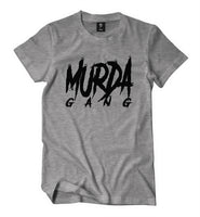"Murda Gang ""OG"" Shirt (Grey/Black)"