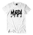 "Murda Gang ""OG"" Shirt (White/Black)"