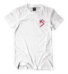 "Murda Gang ""MB"" Shirt (White/Red)"