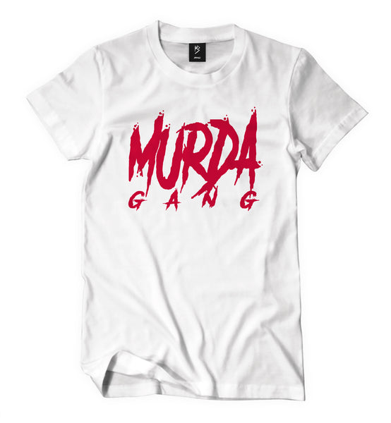 "Murda Gang ""OG"" Shirt (White/Red)"