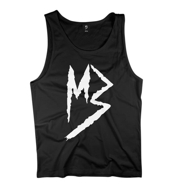 "Murda Gang ""MB"" Tank Top (Black/White)"