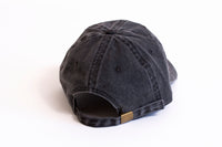 "Murda Gang ""MB"" Dyed Denim Dad Hat (Black)"
