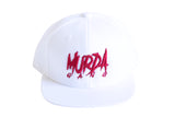 "Murda Gang ""OG"" Snapback (White/Red)"