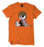 Skeleton Murda Beatz Shirt (Orange)