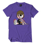 Skeleton Murda Beatz Shirt (Purple)