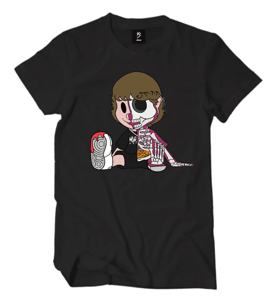 Skeleton Murda Beatz Shirt (Black)