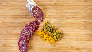 il Porcellino Salumi Orange Pistachio
