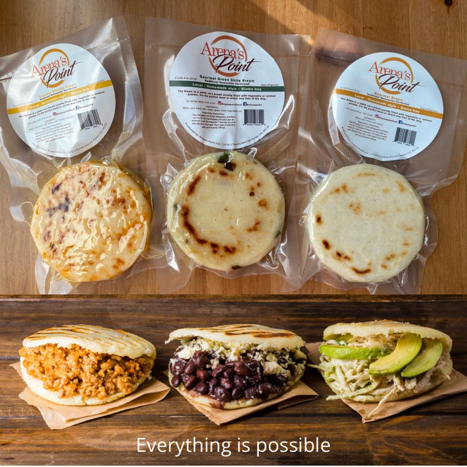 Arepa's Point Fresh Corn Arepas