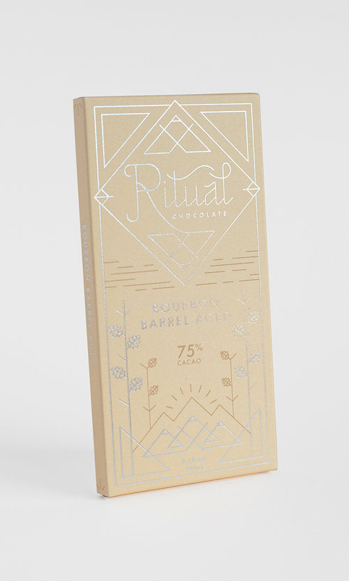 Bourbon Barrel Aged Ritual Chocolate 75% Cacao