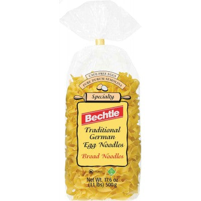 Broad Noodles Traditional German Egg Noodles - Bechtle