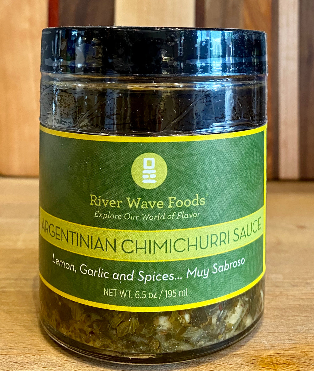 Argentinian Chimichurri Sauce - River Wave Foods