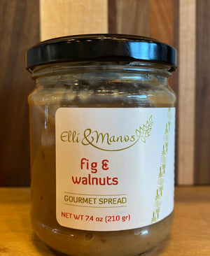 Fig & Walnuts Gourmet Spread - Elli & Manos