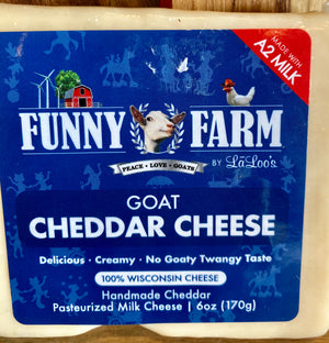 Goat Cheddar - Funny Farm by LaLoo's