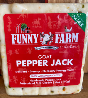 Goat Pepper Jack - Funny Farm by LaLoo's