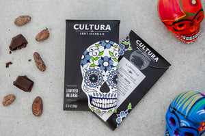 Limited Release Gin + Juniper 75% - Cultura Craft Chocolate