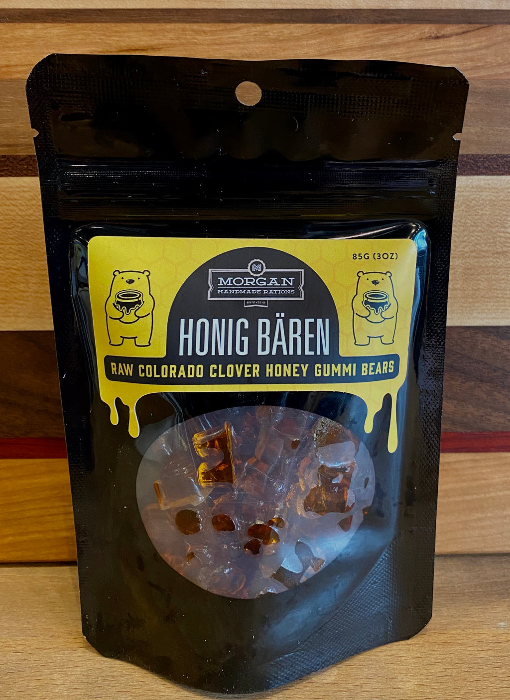 Honey Gummy Bears - Morgan Handmade Rations
